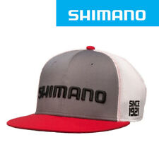 SHIMANO Flat Bill Fishing Cap Hat  - GRAY (0858) L/XL