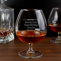 Personalised Engraved Brandy Cognac Glass Gifts Ideas For Him Her Womens Mens