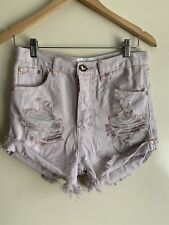 One Teaspoon Outlaws Denim Shorts - Size 24