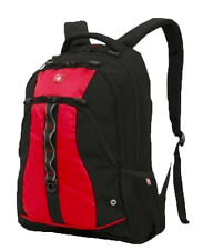 "SWISS GEAR LINDEN SA3078 Large Backpack 19"" x 15"" x 6"" RED - GRAY - NAVY BLUE"