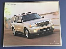 2004 LINCOLN NAVIGATOR 24-Page Dealership Brochure With Specifications