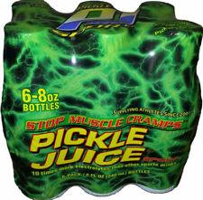 Pickle Juice Original Recipe Sport 8 Oz 6 Pack Caffeine Sugar Gluten 100
