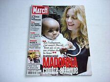 MADONNA on cover PARIS MATCH magazine November 9 2006 rare