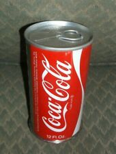Vintage NOS 1972 unfinished rolled Coke Can (Elwood Indiana - not marked)