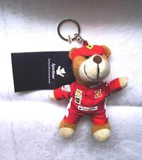 Ferrari Plüschbär mit Etikett, Schlüsselrig, Schlüsselanhänge, keyring,  OVP