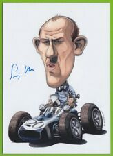 STIRLING MOSS  original in person signed glossy PHOTO 13x18 cm