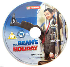 Mr Bean's Holiday DVD R2 PAL - Rowan Atkinson Max Baldry Movie 2010 - DISC ONLY
