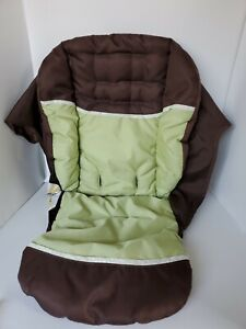 Graco Alano Classic Connect Single Stroller Seat Cover Fabric Replacement Mint