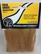 Field Grass Harvest Gold Woodland Scenics #172  FG172 Model Trains Dioramas