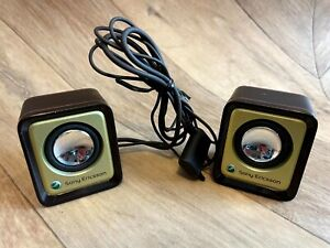 Vintage Retro Sony Ericsson MPS-70 Portable Speakers, Brand New For Mobile Phone