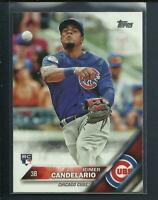 Jeimer Candelario RC 2016 Topps Update Series Rookie # US81 Cubs Detroit Tigers
