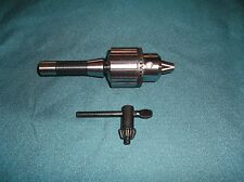 "NEW 5/8 "" DRILL CHUCK WITH R-8 TAPER FOR BRIDGEPORT MILLING MACHINE AND OTHERS"