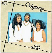 "ODYSSEY - 7"" - (Joy) I Know It.  UK Picture Sleeve.  Mirror"