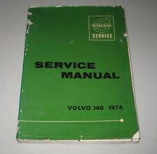 Manual de Taller/Taller Manual Volvo 140 142 144 145Ab 1974
