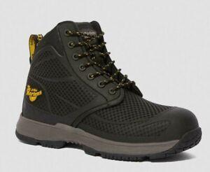 New Genuine Size 12 Dr Martens Calamus S1P Black Safety Composite Boots Shoes