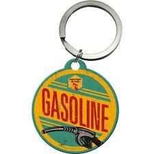 Portachiavi Vintage Design Mod. Gasoline Key Chain Round