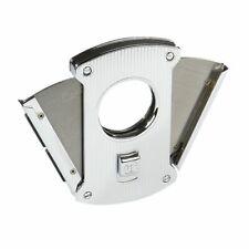 Colibri Slice Cigar Cutter - Silver Pinstripe - New