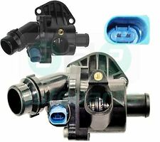 FOR AUDI A4 (B6, B7) 1.8T, 1.8T Quattro, 2.0 THERMOSTAT WITH HOUSING + SENSOR
