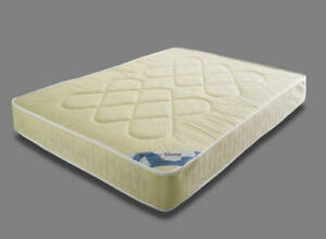 Medium Firm Orthopaedic Mattress Single 3ft 4ft 4'6ft Double 5ft King Size M