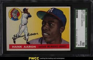 1955 Topps Hank Aaron #47 SGC 4 VGEX