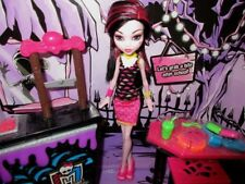 Monster High After School Doll Desk Food Bar-New-No Outer Box Lot C4