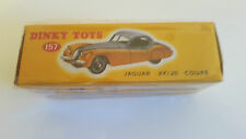 Dinky Toys Atlas - Jaguar XK 120 jaune et grise NEUVE