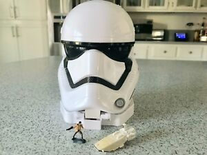 STAR WARS HEAD PLAY SET MICRO MACHINES  STORMTROOPER PLAY SET NEW HASBRO DISNEY
