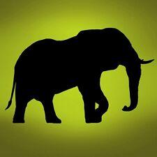 "Vinyl Wall Decal Sticker Elephant Safari Big 44""x69"""