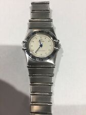 Omega Mini Constellation Stainless Steel Ladies Watch
