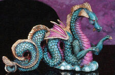 Water Dragon Ceramic Bisque Figurine Fantasy Unpainted U-Paint Ready To Paint