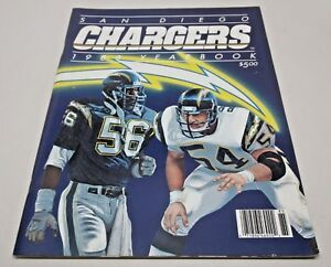 1988 San Diego Chargers Official Team Yearbook
