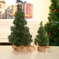 Christmas Desk Tree Decoration Home Xmas Tree Decor Party Ornaments Festival New
