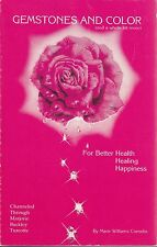 Gemstones and Color Turcotte 1987 Health Healing Happiness Reference