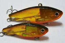 60mm 17g Soft Vibe custom UV colours mask lure Bream Bass FREE SHIPPING Gold