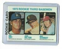 1973 Topps # 615 MIKE SCHMIDT Rookie Reprint Philadelphia Phillies Nice Look !