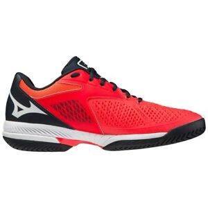 Mizuno Wave Exceed Tour 4 Ignition Red Men's Tennis Shoes