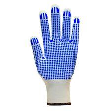 Polyco 701-Mat White Matrix D Grip Polka Dott Gloves Size 7