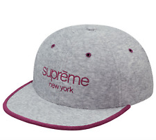 Supreme SS17 Terry Classic Logo 6-Panel Cap BOX HAT BEANIE CAMO TIGER CAMP TEE S