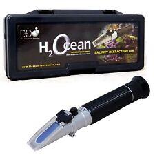 D-D Refractometer Saliinty H2Ocean Marine Reef Salt Test Hydrometer Fish Tank