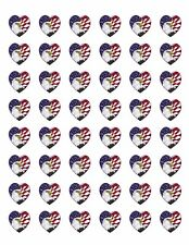 "48 AMERICAN FLAG EAGLE ENVELOPE SEALS LABELS STICKERS 1.2"" ROUND !"