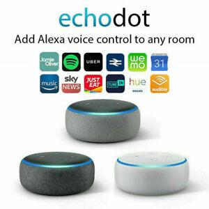 Amazon Echo Dot New 3rd Generation Smart speaker with Alexa Brand New & Sealed