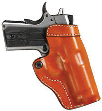 """Colt 1911 & Clones Cross Draw Leather Holster For Barrels up to 5"""" #67106"""