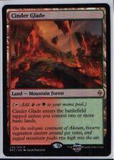 Cinder Glade - Englisch Battle for Zendikar Magic the Gathering Rare Land