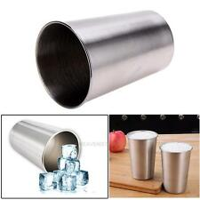 350ml Stainless Steel Cup Beer Water Mug Drinking Coffee Camping Travel Tumbler