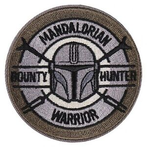 Star Wars: The Mandalorian - Iron On Patch (BOUNTY HUNTER)