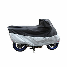MOTORBIKE SCOOTER DISCOUNT WATERPROOF MOTORCYCLE PULL OVER RAIN COVER SIZE XL