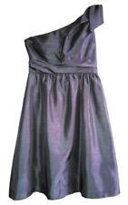 NEW Designer Evening Dresses 8 10 Medium Womens Formal Wear Silver Cocktail Gray