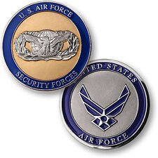 U.S. Air Force / Security Forces - USAF Nickel Challenge Coin