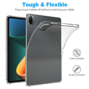 For Xiaomi pad 5/5 Pro 11 in Case Silicone Transparent Clear Shockproof  Cover