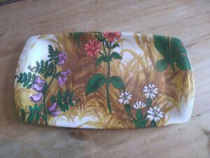 Retro Vintage Melamine Thetford Made In England Tray